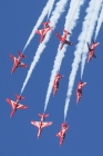 Red Arrows by Mick Dryden